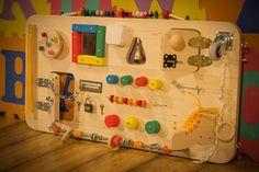 Busy Board Activity Board Sensory Board by LittleBensBoard on Etsy