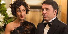 Matteo Renzi e la moglie Agnese Landini