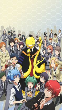 ♡ Assassination Classroom ♡ if you downloaded RB or Like ^^ Si descargaste dale RB o Like