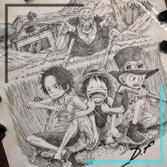 Anime, Ideas Para, David, One Piece, Manga, Painting, Instagram, Learn Drawing, Character