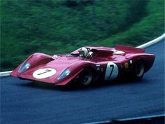 Ferrari 312P WOW...HOW cool it would be to drive this car sooo FAST :))