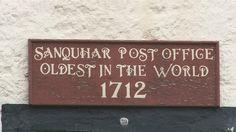 BBC News - Sanquhar post office celebrates 300 years