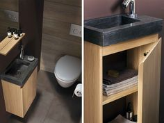 Small Toilet Design, Wc Decoration, Comfort Room, Sink Units, Powder Room, Bathroom, Ranger, Home Decor, Trough Sink
