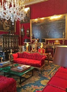 On September 20, Sotheby's will auction off the estate of Robert Zellinger de Balkany. AD editor Mitchell Owens tours the gilded residence