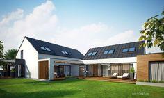 dom podmiejski - http://architektura.w4o3.com/domy/dom-podmiejski/