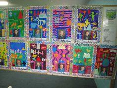 kids art displays - Google Search