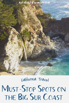 The Big Sur stretch of the Pacific Coast Highway is among the most spectacular coastal road trips in the world. Read my post to discover the top five spots to stop along this drive. Visit California, California Travel, Travel Oklahoma, Solo Travel, Travel Usa, Pacific Coast Highway, Travel Advice, Travel Guides, Travel Tips