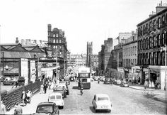 Lothian Road and the old Goods Yard 1959, Edinburgh