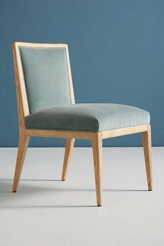 Slide View: 1: Velvet Mari Dining Chair