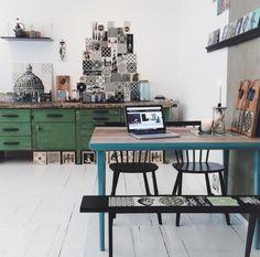 Méchant Studio Blog: the art of making tiles