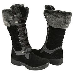 Women's Blondo Benovi Winter Boot Black Suede Shoes.com