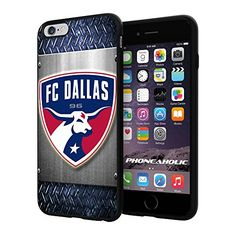 """Soccer MLS FC Dallas LOGO SOCCER FOOTBALL, Cool iPhone 6 Plus (6+ , 5.5"""") Smartphone Case Cover Collector iphone TPU Rubber Case Black [By NasaCover] NasaCover http://www.amazon.com/dp/B012BCWU84/ref=cm_sw_r_pi_dp_7YpXvb0BXZZHD"""