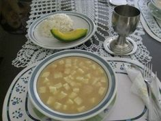 Colombia - El Mote de queso. My Favorite Food, Favorite Recipes, Colombian Food, Best Food Ever, Chana Masala, Food Porn, Cooking, Ethnic Recipes, Koh Tao