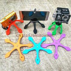 Gekkopod Mini Tripé Portátil Flexível Stand/Suporte para o iphone xiaomi yi c30 SJCAM Sj4000 Gopro Acessórios Da Câmera de Esportes em Tripés de Consumer Electronics no AliExpress.com | Alibaba Group