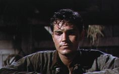 Gun For A Coward 1957 Film   Jeffrey Hunter as Bless Keough in Gun for a Coward