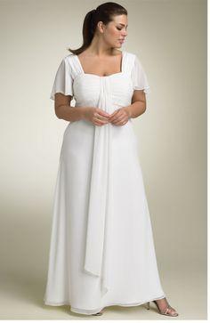 Plus Size Fashion for Women | White dresses for plus size women trends