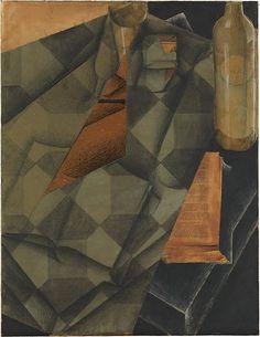 Book and Glass (1914) Juan Gris
