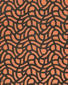 Alfred Roller. Textile design, 1899