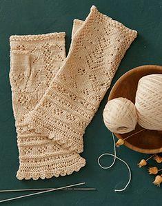 aecc23c0815 Festival Lace Mitts pattern by Inna Voltchkova