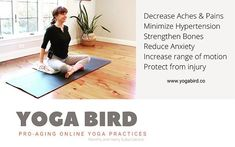 Join us! A steady Yoga Bird practice will change your life in so many positive ways. Allow your yoga mat to become your safest most loving place that you can land. Website link in profile. #beyourownhero #yogabirdco Be Your Own Hero, Online Yoga, Website Link, Anxiety, Join, Profile, Positivity, Change, Bird