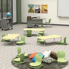 Zuma Floor Rockers are the latest in alternative classroom seating. Available on many colors and in 2 sizes. #classroomdecor #alternativeseating #classroompinspirations #classroomorganization #newarrivals