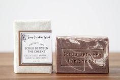 Funny Soap // Fun Gifts for Him // Gag Gift for Husband // Mens Soap // Unisex // Artisan Soap // Homemade Soaps // Cold Process Soap Gifts For Husband, Gifts For Him, Mens Soap, Homemade Soaps, Fun Gifts, Cold Process Soap, Castor Oil, Bar Soap, Scrubs