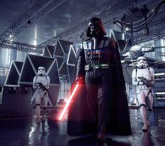 Star Wars Darth Vador and his Stormtrooper