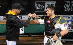 Right-hander A.J. Burnett and catcher Francisco Cervelli worked together Tuesday for the first time in four years. As he watched the two interact, Pirates manager ...