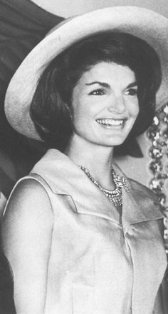 "First Lady Mrs ~~Jacqueline Lee (Bouvier) Kennedy Onassis ""Jackie"" (July 28, 1929 – May 19, 1994)."