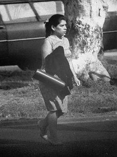 Lina Medina, 28 years after giving birth.