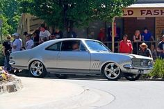 Still my favorite. The great Aussie Holden Monaro. The best lines and tough. Nick