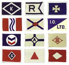 An entry from Quite Continental Nautical Flags, Flag Logo, Flag Design, Badge Design, House Flags, Branding, Home And Deco, Stationery, Typography