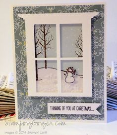 Dreaming of a White Christmas 2014 by Stamping Ginger - Cards and Paper Crafts at Splitcoaststampers