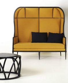 LAVAL igloo #sofa - @stellar_works #yellow