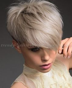 Short Hairstyles With Long Bangs Interesting Short Hairstyles With Long Bangs Short Hair Long Fringe  Short
