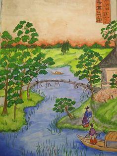GALERIA PALOMO MARIA LUISA: POSTAL DE EDO Poster, Painting, Art, Water Colors, Paintings, Art Background, Painting Art, Kunst, Posters