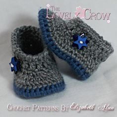 """Baby Booties """"My Angel Baby Booties"""" 