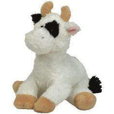 Amazon.com  TY Beanie Babies Cornstalk - Barnyard Cow  Toys   Games 9c23c4d3615a