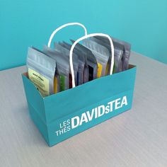 Got a cluttered tea collection? Here's how to build a storage unit in under 5 minutes. Love my David's tea! for other things too Tea Organization, Organizing, Tea Holder, Davids Tea, Tea Storage, My Cup Of Tea, Hacks, Loose Leaf Tea, Tea Recipes