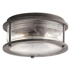 Kichler Ashland Bay 49669WZC Outdoor Flush Mount Light - 49669WZC