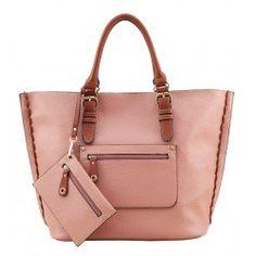 Alfio Young Trio Dark Pink Handbag
