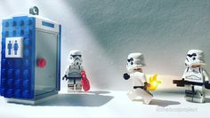 """""""Looks like Steve's spicy cooking finally hit Frank"""". #legominifigs #legominifigure #brickpichub #legophotography #starwars #stormtrooper #spicyfood #lego #legostagram #legostarwars #legostormtrooper #legobricks by thebcdproject"""