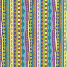 Strands in Multi Lime-Cirque de Millefiori Collection-by Mary Tanana for www.modernyardage... #sew #quilt #fabric #craft