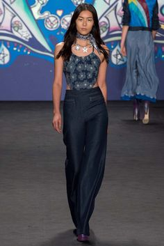 Anna Sui Spring 2015 Ready-to-Wear Fashion Show - Jamie Bochert