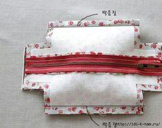 Fabric Mini Tote Handbag | www.FabArtDIY.com