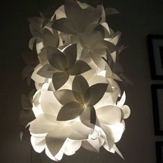 Paper Lampshade Tutorial - HOME SWEET HOME