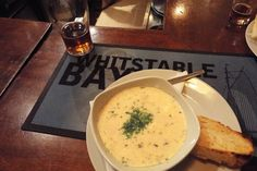 Cullen skink before the haggis. Burns night at the Ashburnham | From selcamra