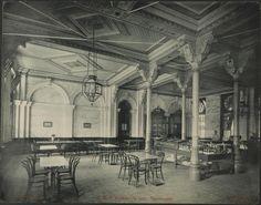 S. P. R. Estação da Luz : Restaurante Gaensly, Guilherme, 1843-1928 ([1902?]) Architecture, Terra Brasilis, Vintage, Data, Portal, Trains, Romance, Design, Old Mansions