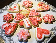 I discovered my new hobby! Valentines Day Cookies, Homemade Desserts, New Hobbies, Enchanted, Sugar, Recipes, Food, Rezepte, Essen