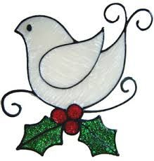 Image result for stain glass bird